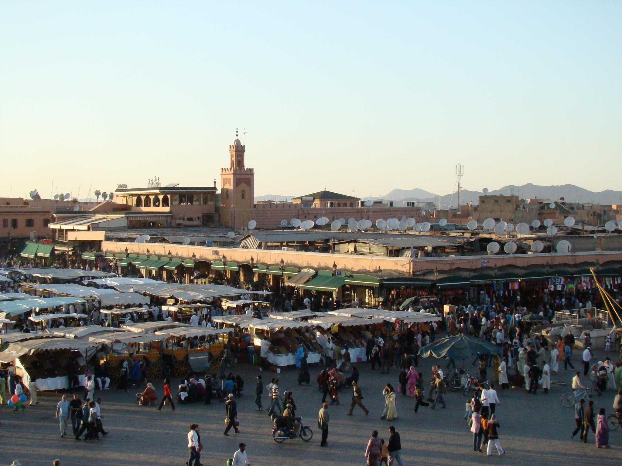 Marrakech_djemaa_el_fna