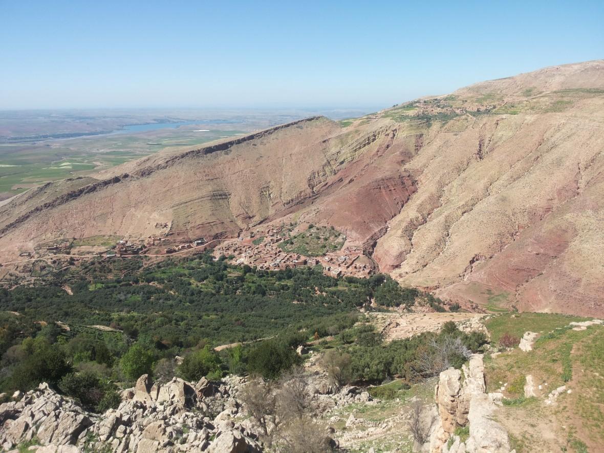 sentiers berbères, Plateau du Kik - Haut Atlas Marocain