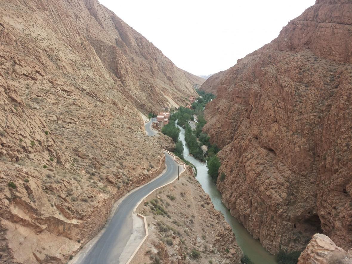 Désert de Merzouga, gorges et oasis