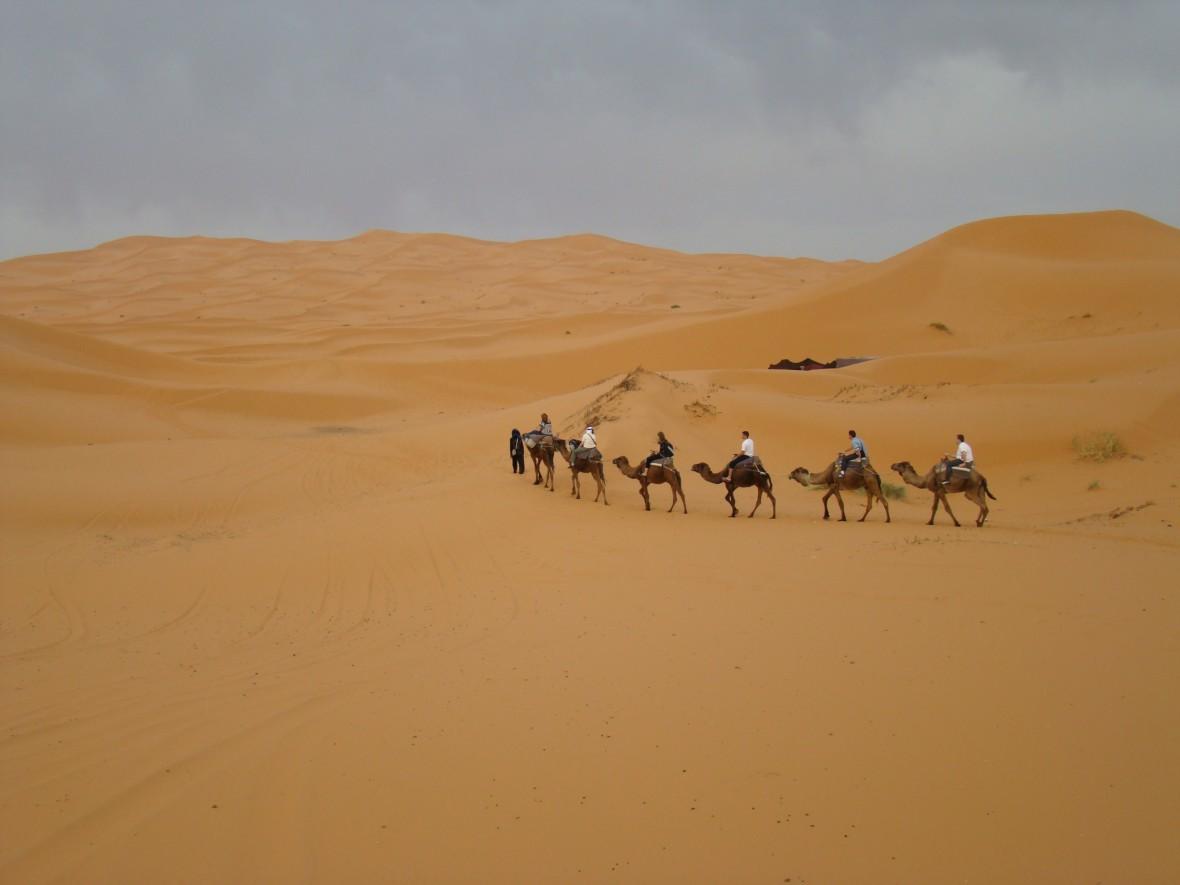 Merzouga, circuit sud Maroc, désert du Maroc